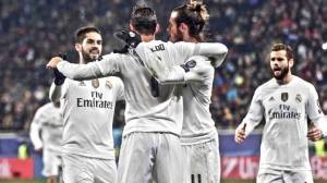 Real Madrid vence al Shakhtar