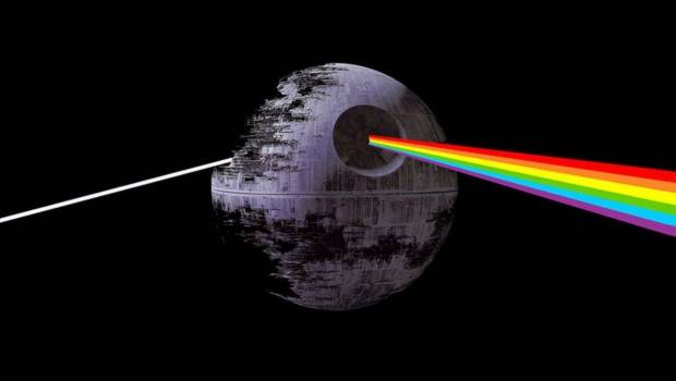 ESTO SUCEDE CUANDO SE SINCRONIZA THE FORCE AWAKENS CON THE DARK SIDE OF THE MOON (VIDEO)