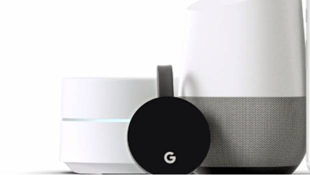 Google WiFi, Home y Chromecast Ultra.