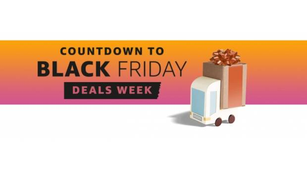 'Countdown to Black Friday' de Amazon.