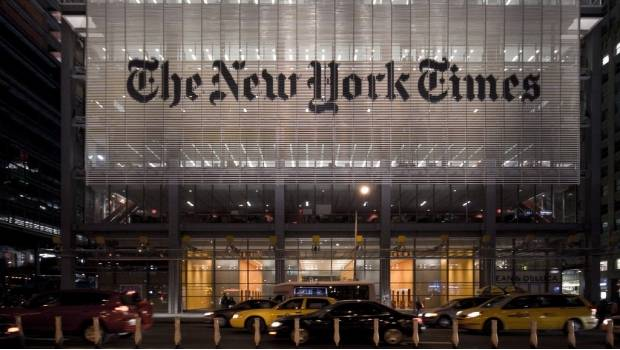 Donald Trump despotrica contra 'The New York Times'
