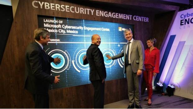 El Cybersecurity Engagement Center inaugurado en la CDMX.