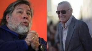 Steve Wozniak y Stan Lee.