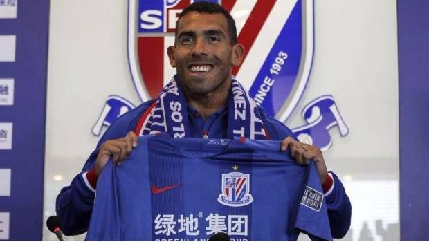 Tevez, contra la Superliga China: