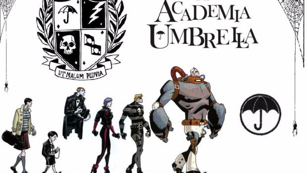 El cómic de Gerard Way llega a Netflix — The Umbrella Academy