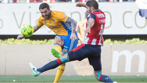 Gignac en la Final vs Chivas.