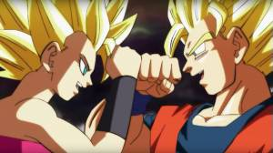 Goku vs Caulifla