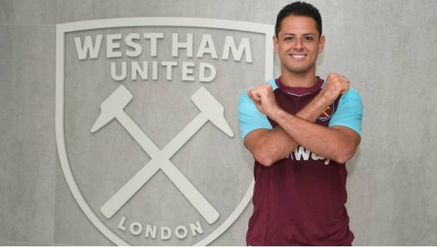 Chicharito no usará el número 14 en el West Ham
