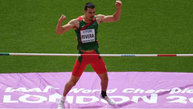 Mexicano Edgar Rivera a la final en Mundial de Atletismo