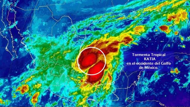 Katia se degrada a depresión tropical en estado mexicano de Puebla