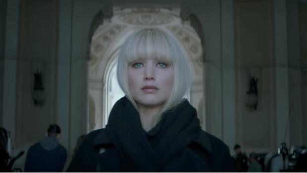 Red Sparrow con Jennifer Lawrence — Trailer