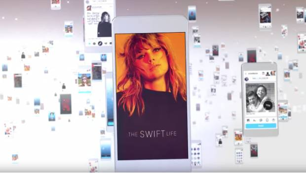 Conoce The Life Swift, ¡la nueva app de Taylor Swift!
