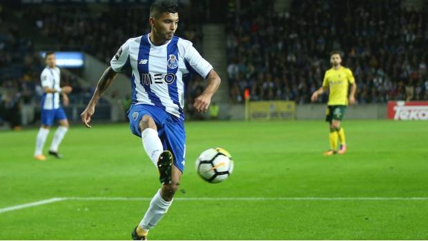 #Video Tecatito marca el quinto del Porto