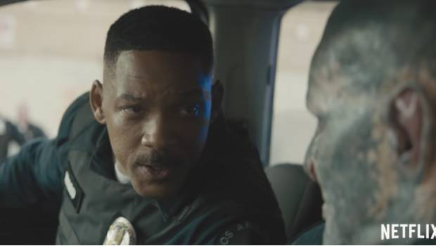 Will Smith combate seres inusuales en 'Bright'