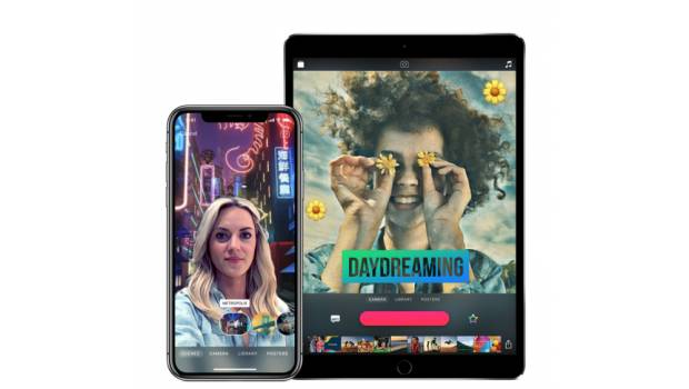 'Clips 2' en un iPhone X y para el iPad.