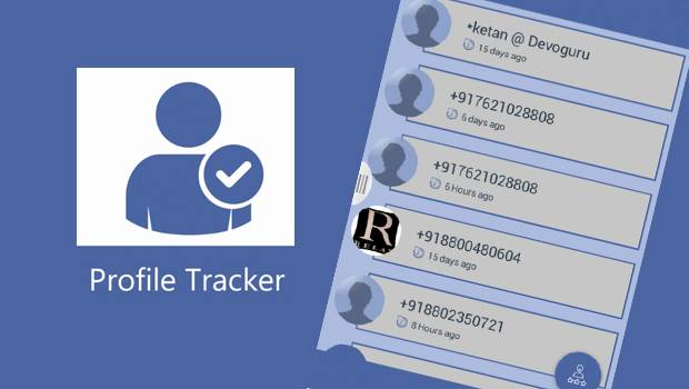 La aplicación fraudulente 'Profile tracker for whats app'.