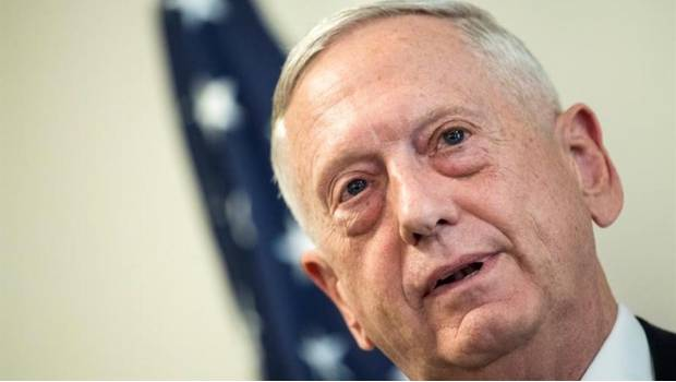 El secretario de Defensa estadounidense, James Mattis