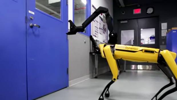 El escalofriante video del perro-robot de Boston Dynamics
