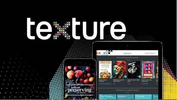 Apple compra aplicación de revistas digitales Texture