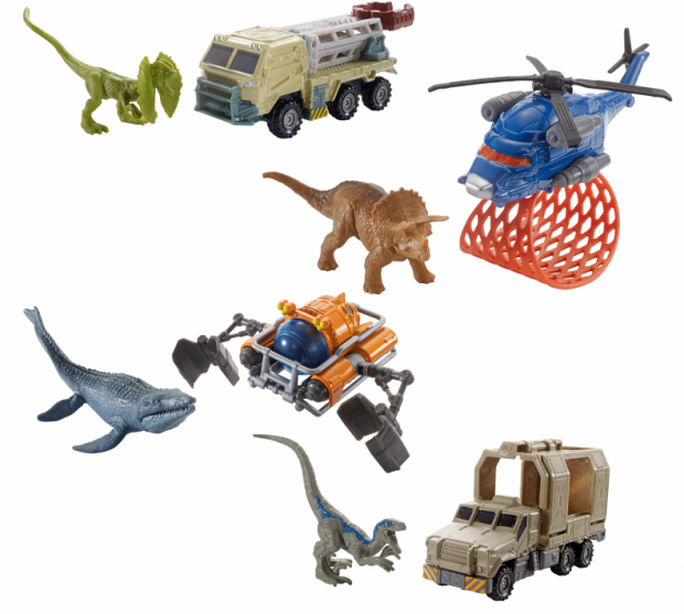 Matchbox Tambien Tendra Una Linea De Jurassic World Fallen Kingdom