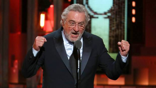 Actor Robert De Niro insulta a Donald Trump