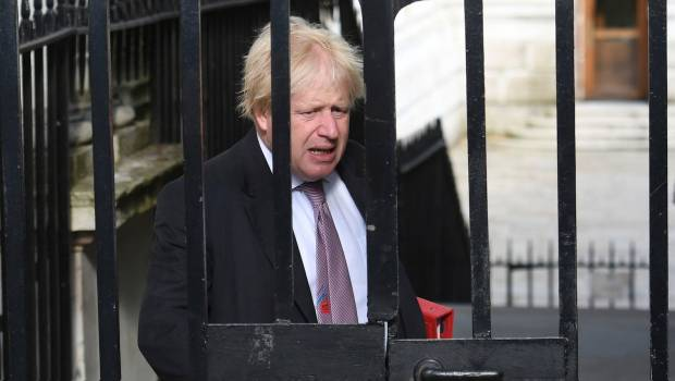 Boris Johnson. Renuncia.