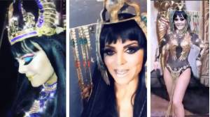 Maribel Guardia presume sexy disfraz de Cleopatra (VIDEO)
