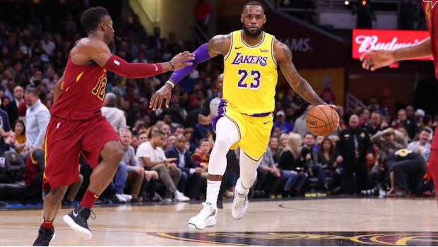 LeBron James anota 51 puntos en el triunfo de los Lakers