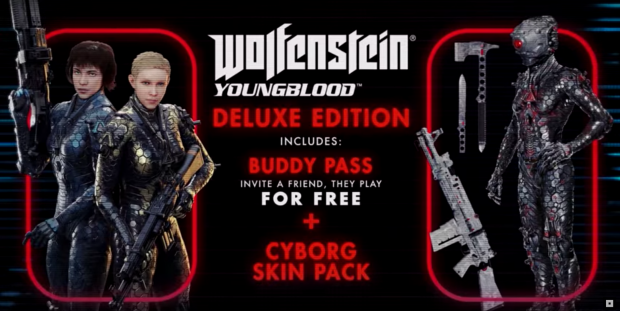 Youngblood saldrá el 26 de julio — Wolfenstein