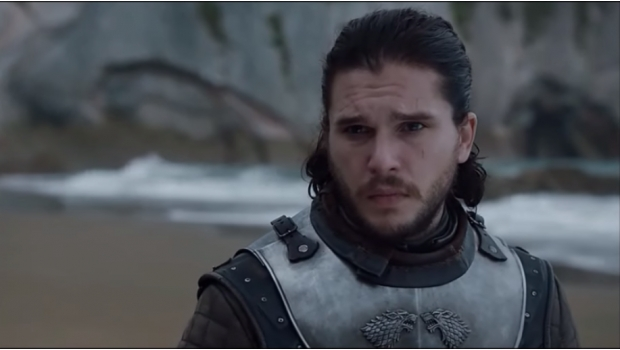 Kit Harrington como John Snow